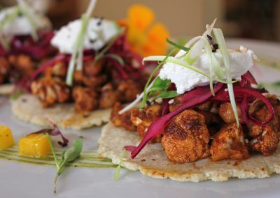 BBQ Cauliflower Tacos