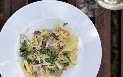Mushroom & Lemon Thyme Pasta